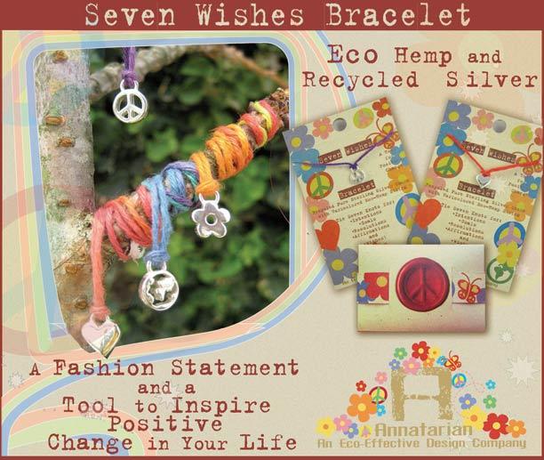 Eco/Charm Wish Bracelet